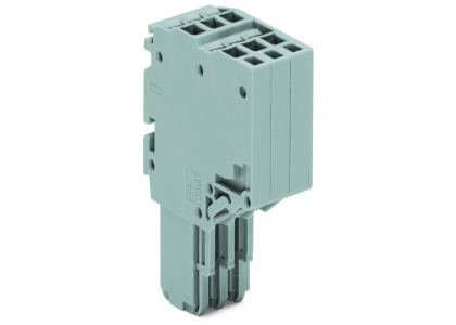 Rail-Mount Terminal Blocks with a Plug-gable Connector, X-Com®S SYSTEM