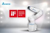 Sản phẩm cánh tay robot DRV của Delta đã giành Giải thưởng Thiết kế iF