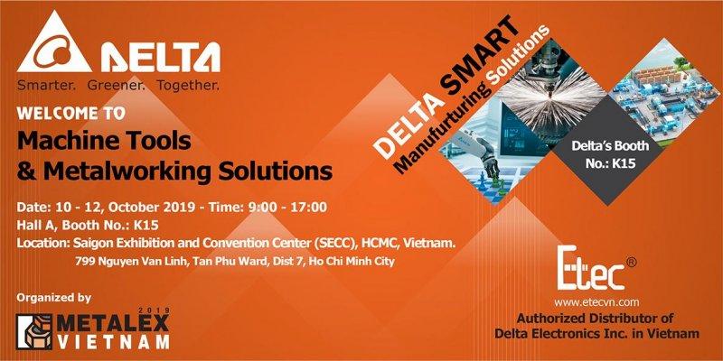 Delta - Etec join to Metalex Vietnam 2019