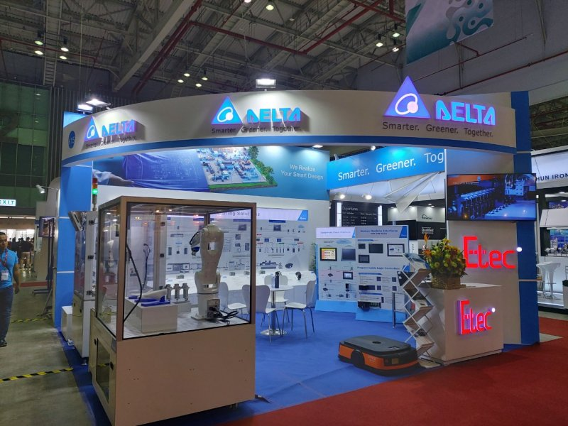 Thank you letter for coming to Delta - Metalex Vietnam 2019