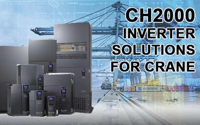 Giải pháp biến tần CH2000 cho Vận thăng - Cẩu tháp - Thang nâng