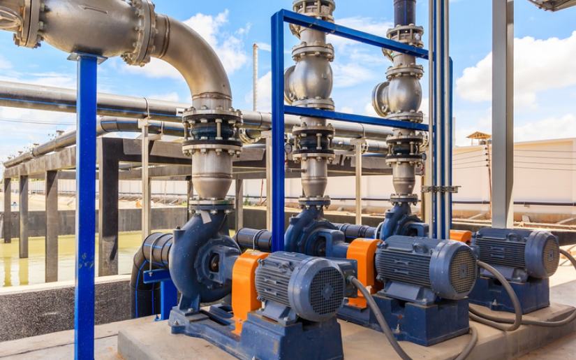 Delta IA Delivers Stability, Efficiency and Quality for Transfer Pumping Room in Water Treatment Process