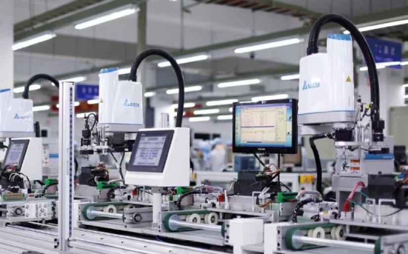 DELTA SCARA Robot - GIẢI PHÁP NÂNG CAO CHẤT LƯỢNG & HIỆU QUẢ SẢN XUẤT