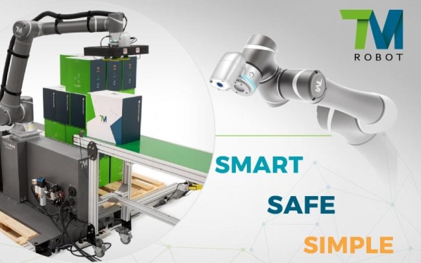 Techman Robot - Giải pháp đầu tư thông minh cho các doanh nghiệp sản xuất
