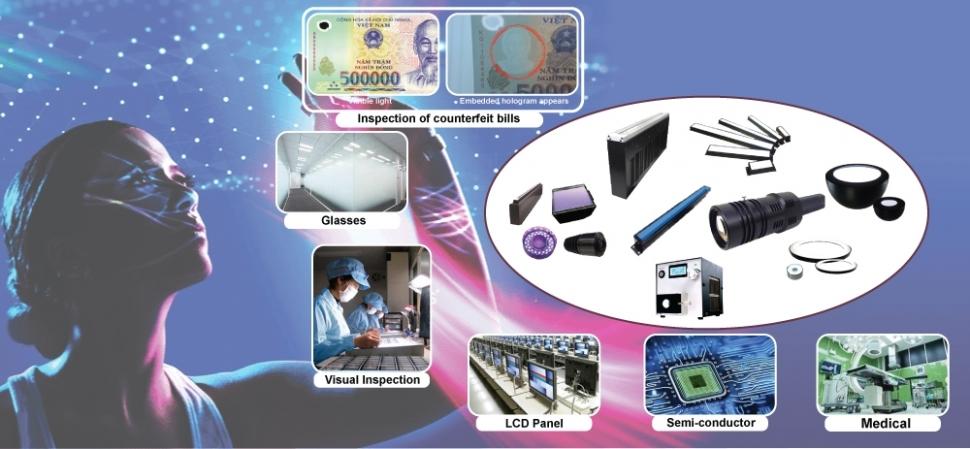 LED Công nghệ cao của AITec Nhật Bản - Ứng dụng trong kiểm tra chất lượng, truy vết nguồn gốc, khuyết tật sản phẩm