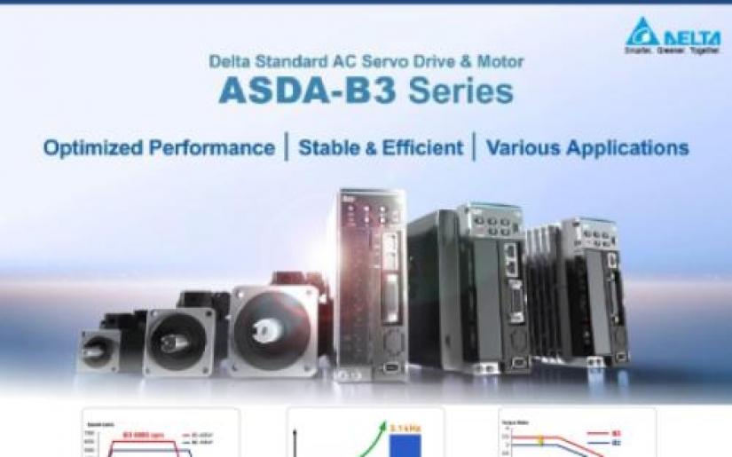 ASDA - B3 SERIES - Giải pháp tối ưu cho các ứng dụng Motion control