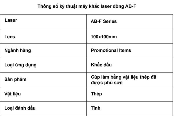 Sử dụng công nghệ Fiber Laser khắc dấu nghệ thuật trên CÚP