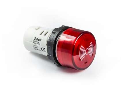 Cói Báo Có Đèn (LED) Dòng MB, ø22mm, 90db (10 cm)
